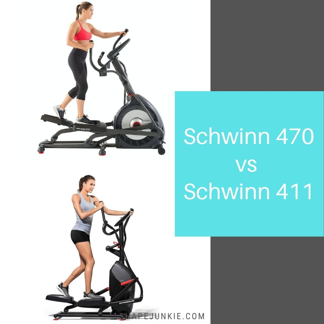 schwinn 470 vs 411 elliptical comparison