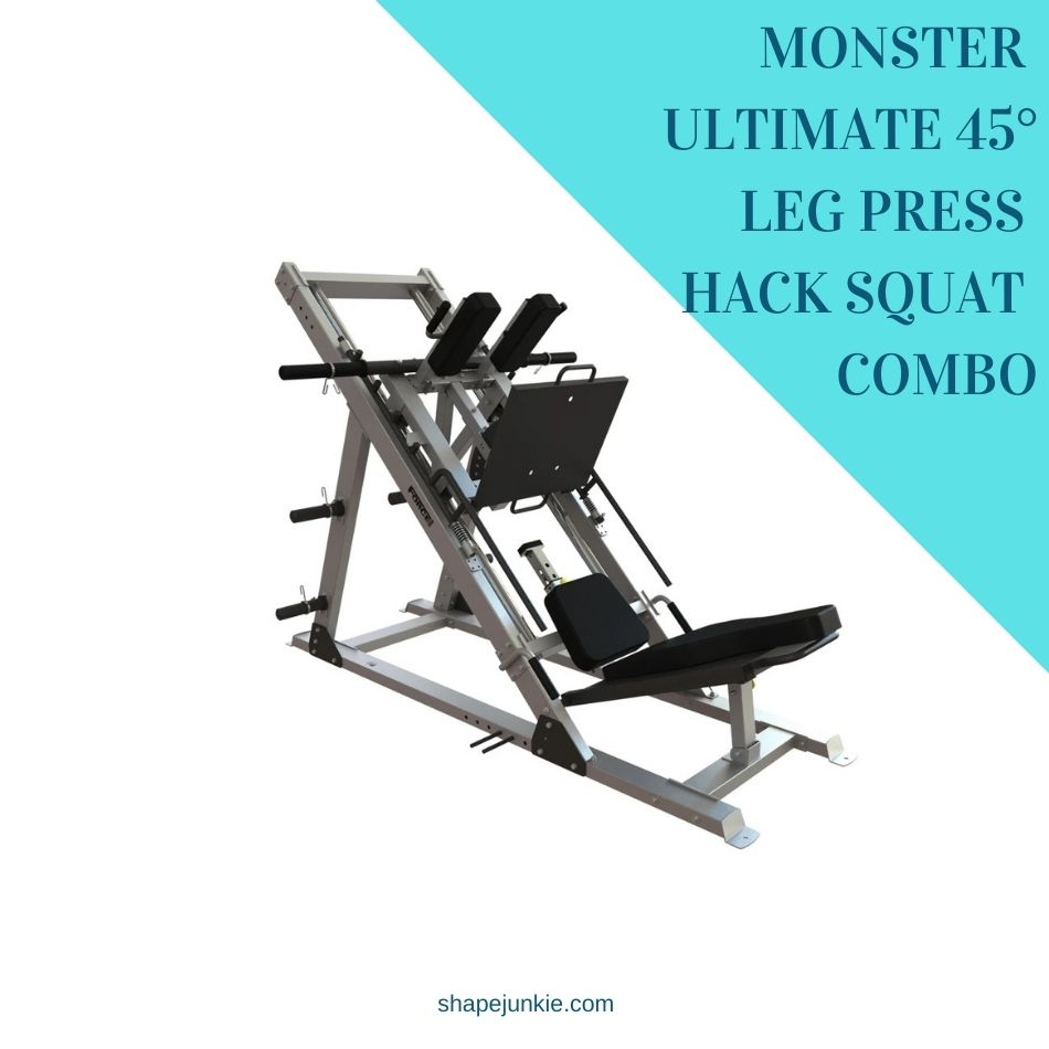 MONSTER ULTIMATE 45 DEGREE LEG PRESS HACK SQUAT COMBO review