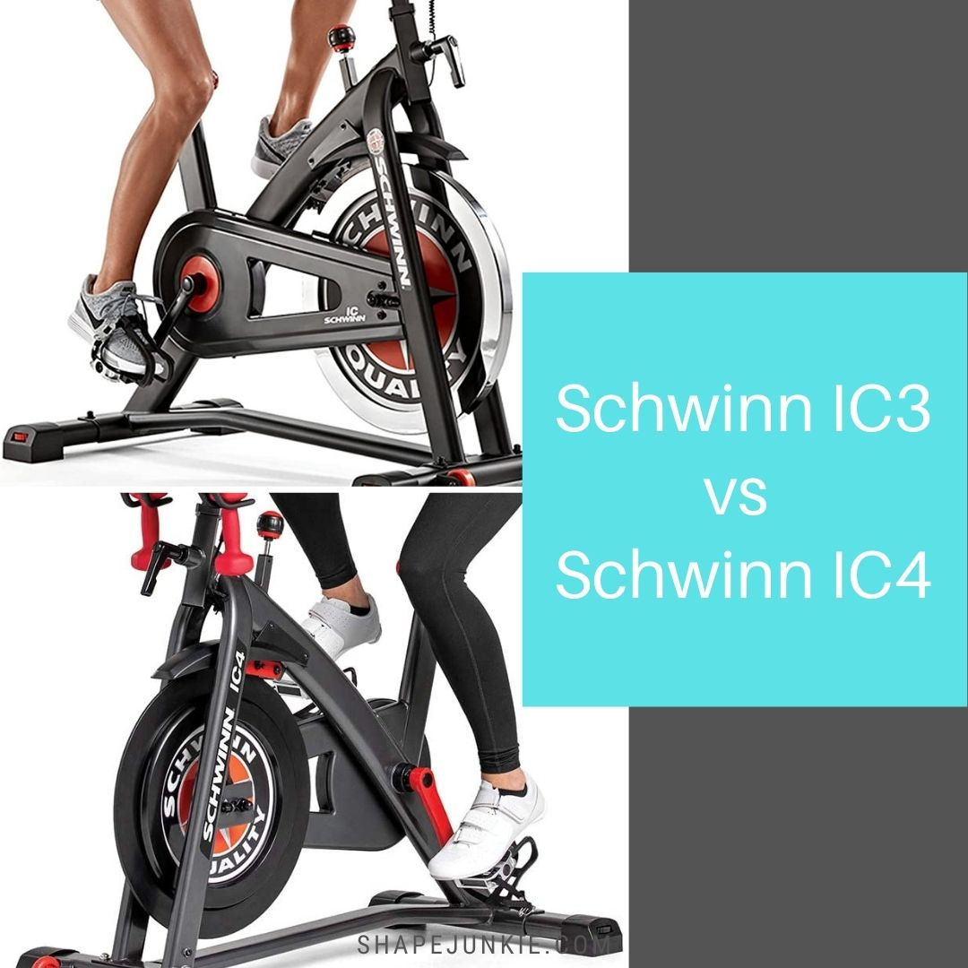 Schwinn IC3 vs IC4 comparing exercise bikes