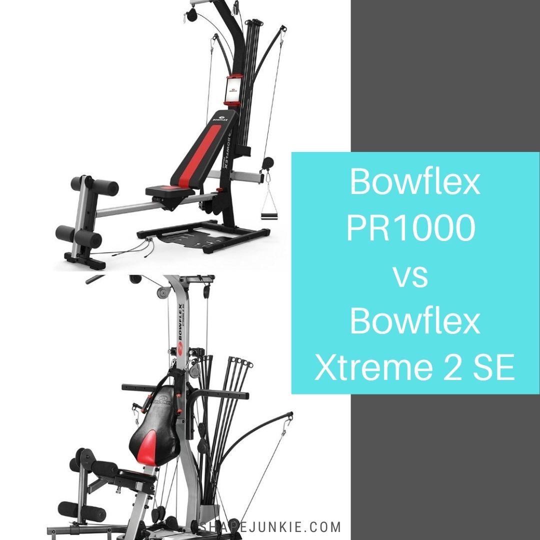 Bowflex PR1000 vs Bowflex Xtreme 2 SE home gym comparison-2