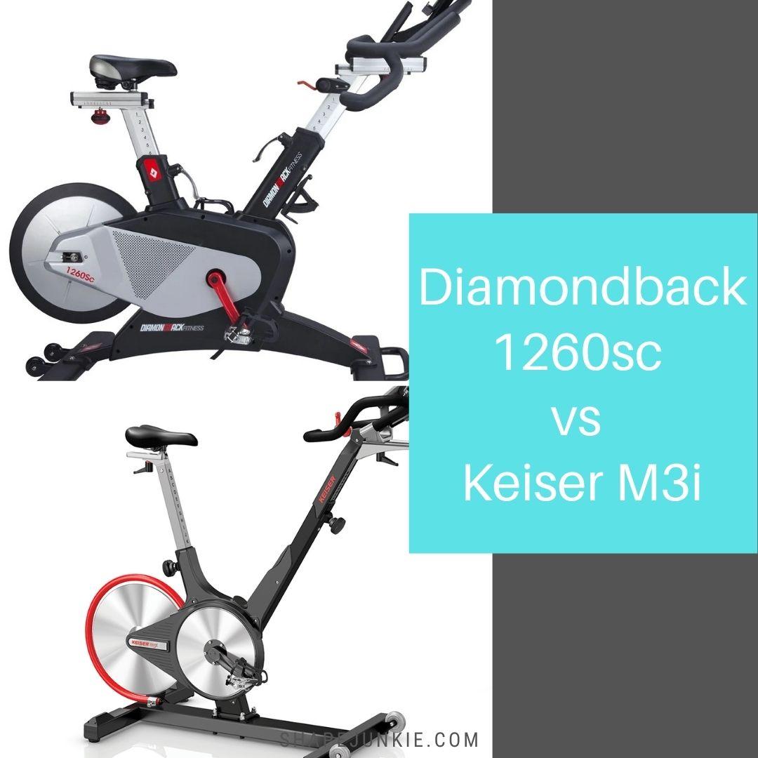 Diamondback 1260sc vs Keiser M3i bike comparison