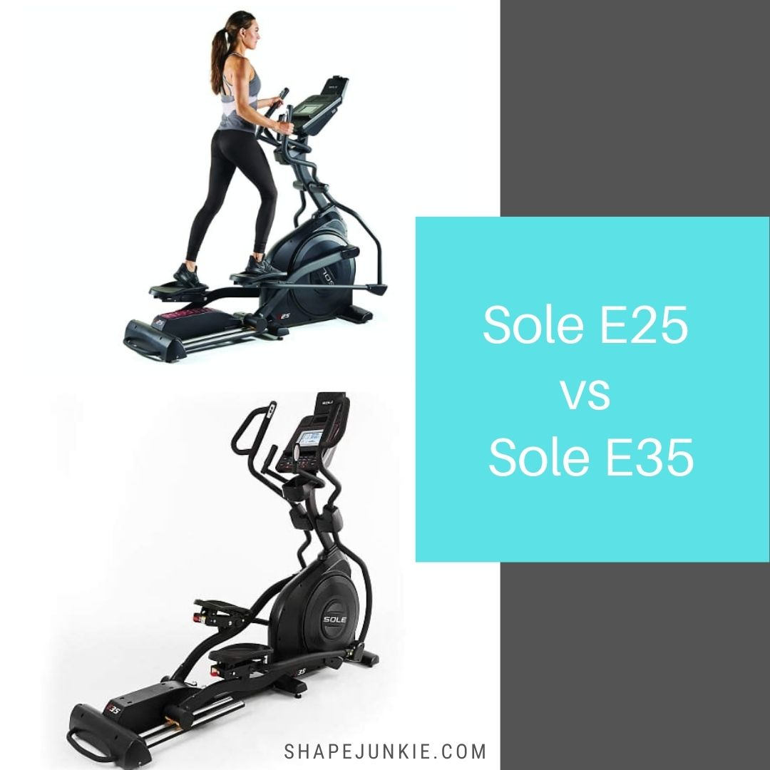 Sole E25 vs Sole E35 ellipticals comparison