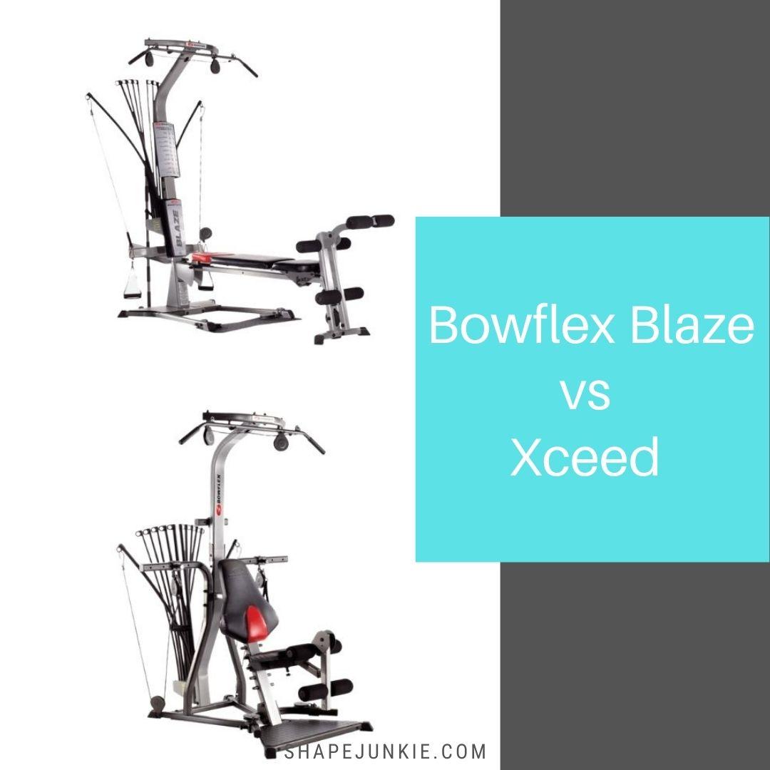 Bowflex Blaze vs Xceed home gym comparison